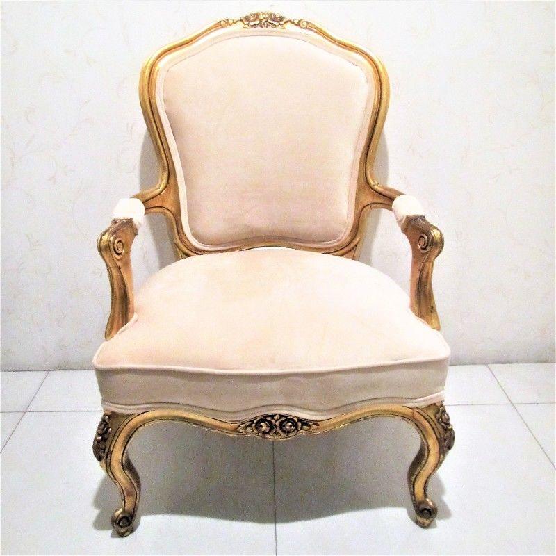 Sillón Luis XV de lujo