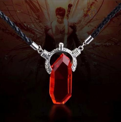 2 Collar Devil May Cry Envio Gratis Dante Piedra Roja 2dijes