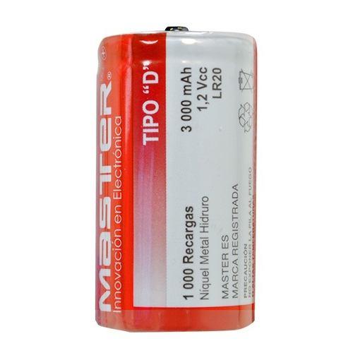 Bateria Pila Recargable Tipo D  Mah. Nuevas Y Selladas