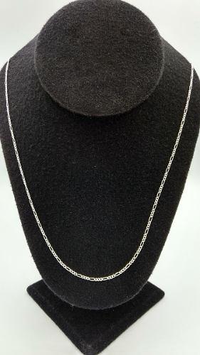 Cadena Plata Fina.925 3*1 Unisex Hombre Mujer 70cm