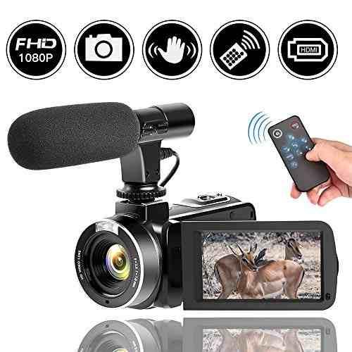 Cámara De Vídeo 30fps Cámara Digital Videocámara Full H
