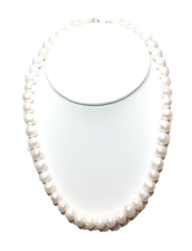 Collar Autentico De Perla Cultivada A04