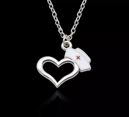 Collar De Estetoscopio Corazón Para Doctor Enfermera