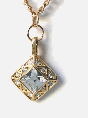 Collar De Zirconia Calidad Diamante Remate.