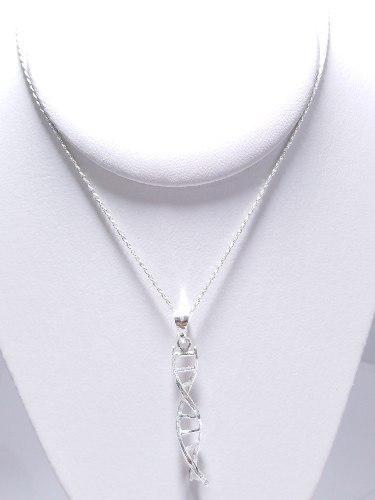 Dije Adn Diamantado / Plata.925 / ¡envio Gratis!