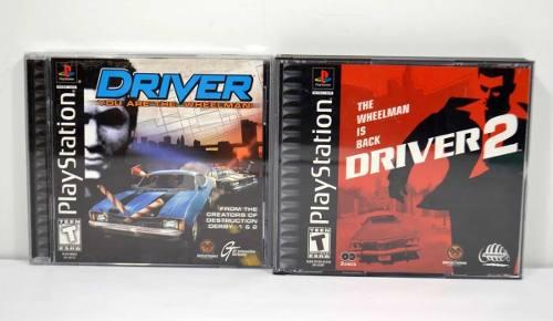 Driver 1 Y 2 Playstation 1 Ps1 Ps2 Ps3