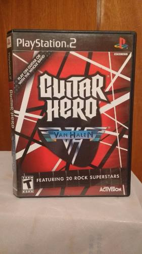 Guitar Hero Van Halen (con Manual) Ps2 Od.st