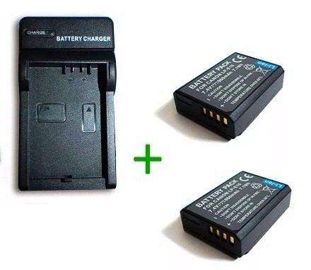 Kit Cargador + 2 Baterias Lp-e10 Canon Eos d Rebel T3