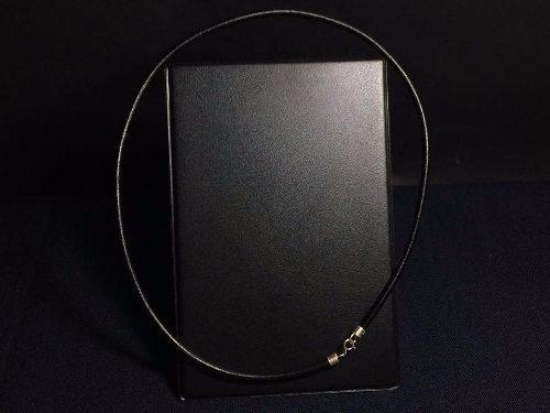 Oferta Marzo Collar De Caucho Broche De Plata Ley 925 Taxco