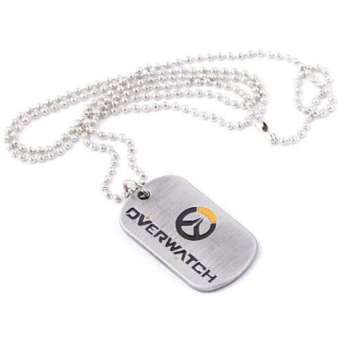 Overwatch Collar Cadena Acero Inoxidable Ps4