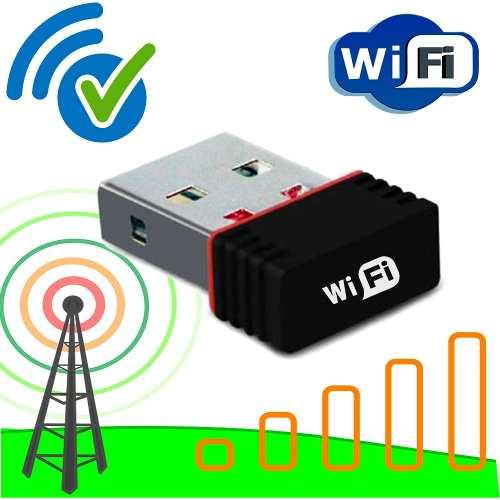 Receptor Adaptador Internet 150 Mbps Wifi Lote 5 Pz