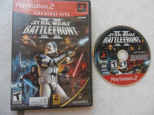 Star Wars Battlefront 2 Para Tu Ps2 Juegazo!!! Chécalo