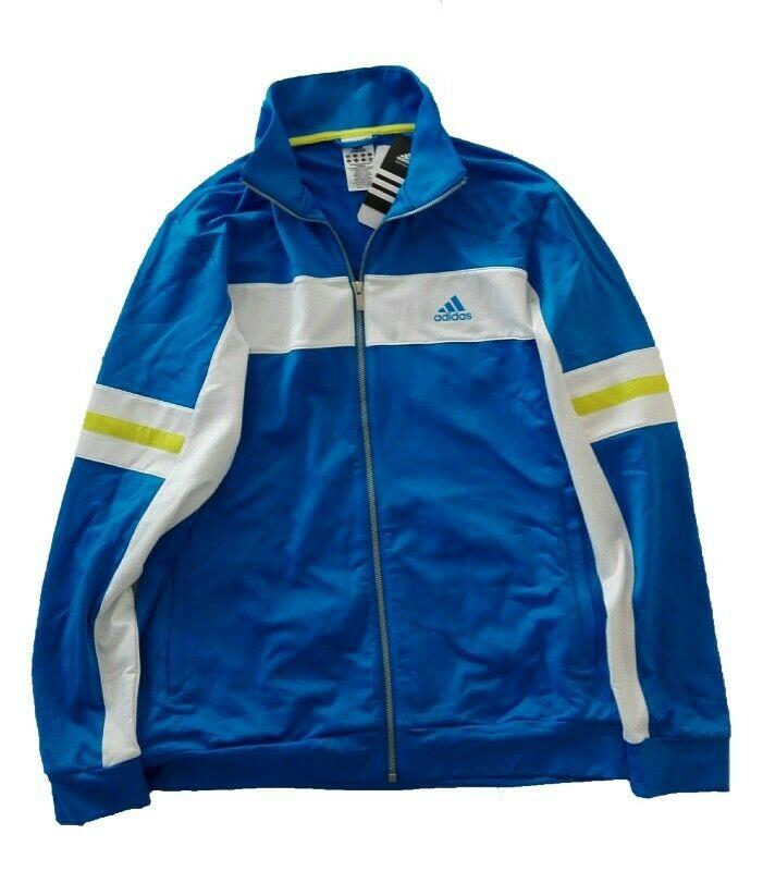 Sudadera Adidas Azul Climalite Original
