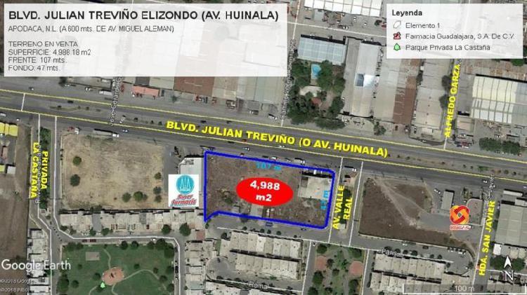 TERRENO COMERCIAL en VENTA en AV. JULIAN TREVIÑO (Av.
