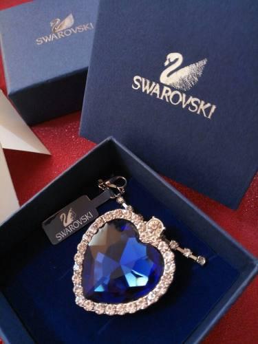 Titanic Swarovski Collar Dije Y Cadena De Cristales ****