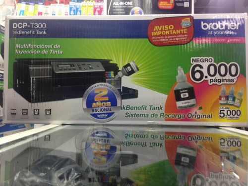 Impresora Brother Dcp-t300 C/sistema De Tinta Continua!!