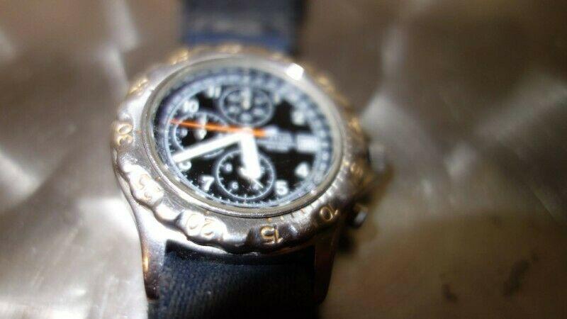 reloj japones marca Lotus de cuarzo usado, en $575.- jala al