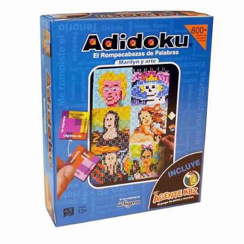Adidoku Juegos De Mesa (marilyn Y Arte)