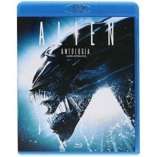 Aliens Antologia 1, 2, 3, 4, Blu Ray