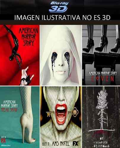 American Horror History Serie Tem1 Ala 6 Latino Bluray