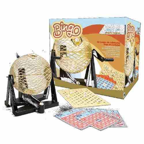 Bingo Mediano 6 Novelty Juegos De Mesa Bingo Profesional