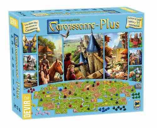 Carcassonne Plus - Incluye 11 Expansiones / Envio Gratis