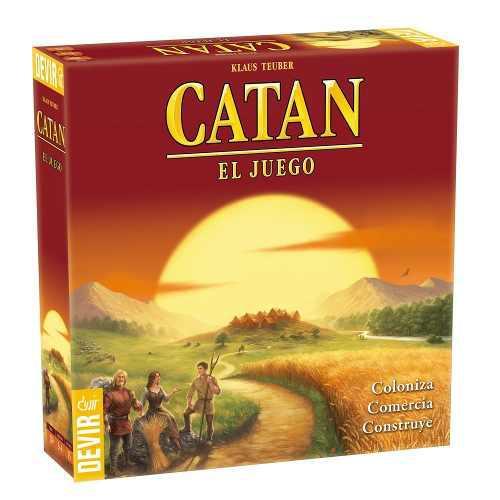 Catan El Juego, Devir, Juego De Mesa, Juegos