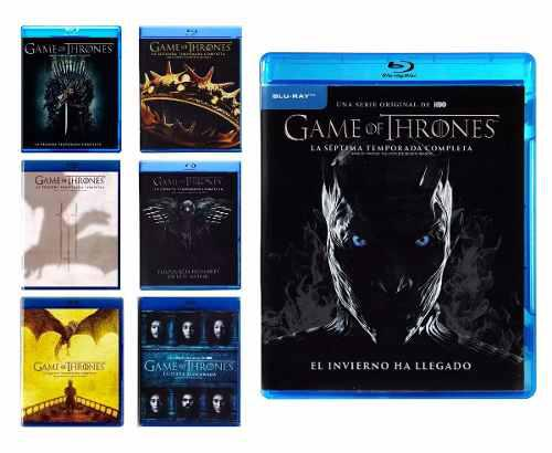 Game Of Thrones Juego De Tronos Paquete 7 Temporadas Blu-ray