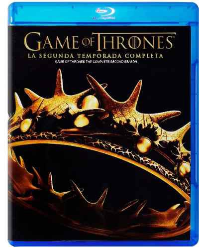 Game Of Thrones Juego De Tronos Temporada 2 Dos Blu-ray