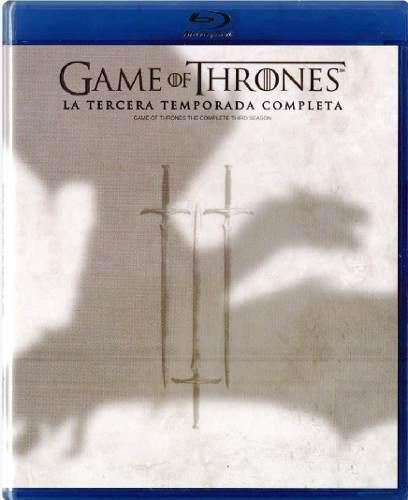 Game Of Thrones Juego De Tronos Temporada 3 Tres Blu-ray