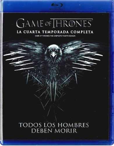 Game Of Thrones Juego De Tronos Temporada 4 Cuatro Blu-ray