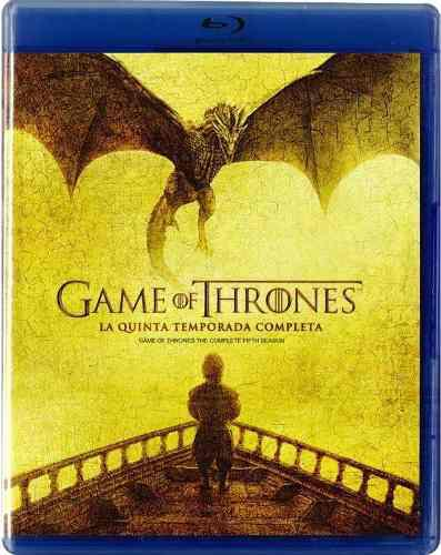 Game Of Thrones Juego De Tronos Temporada 5 Cinco Blu-ray