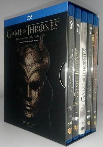 Game Of Thrones Juego De Tronos Temporadas 1 A 5 Blu-ray