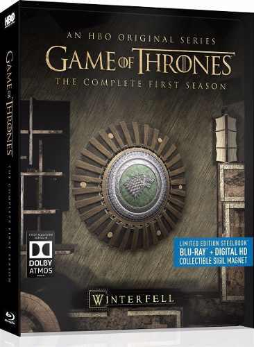 Game Of Thrones Juego Tronos Temporada 1 Steelbook Blu-ray