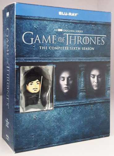 Game Of Thrones Juego Tronos Temporada 6 Bd + Jon Snow Usb