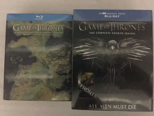 Game Of Thrones Temporada 1 A 4 Blu Ray Envío Gratis