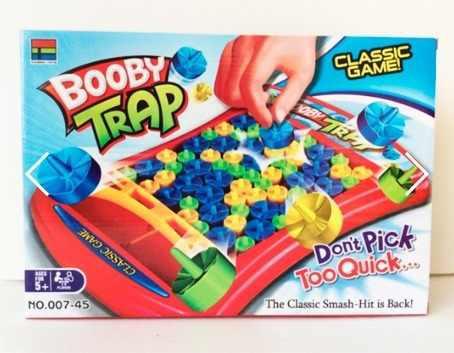 Juego De Mesa Bobby Trap Divertido Juego Familiar Clasico