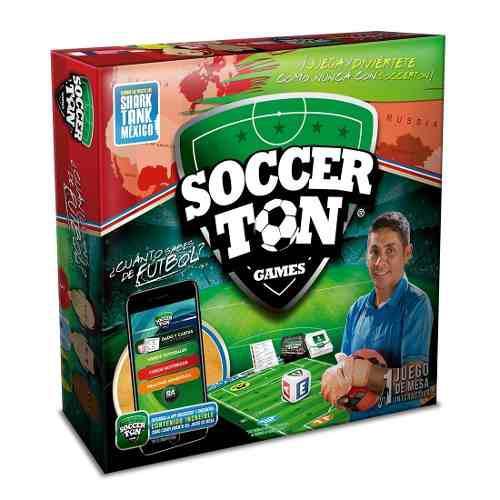 Juego De Mesa Interactivo Soccerton Game Futbol Jorge Campos