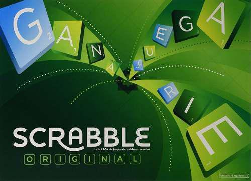 Juego De Mesa Scrabble Original Mattel Envio Gratis
