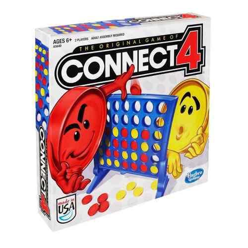 Juego Mesa Connect 4 Clásico Versión Original Hasbro