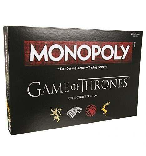 Juegos De Mesa Monopoly Edición Game Of Thrones Original