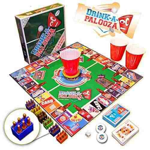 Juegos De Mesa,bebida-a-palooza Juego De Mesa Combina La..