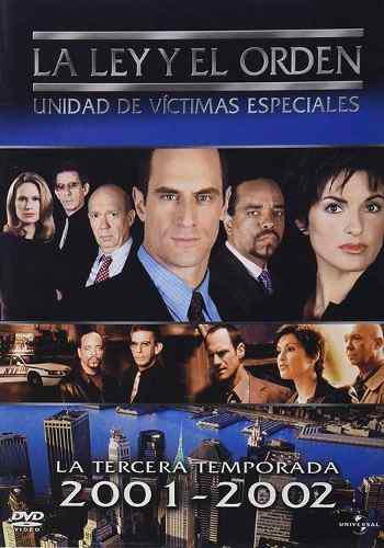 La Ley Y El Orden Uve Temporada 3 5dvd