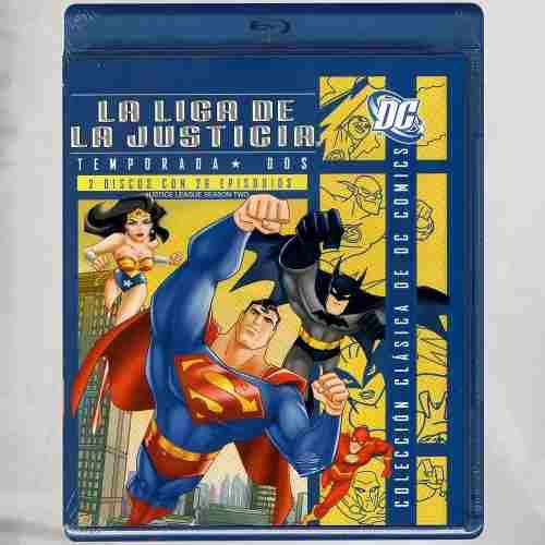La Liga De La Justicia Temporada 2 Blu-ray Inglés Sub. Esp.