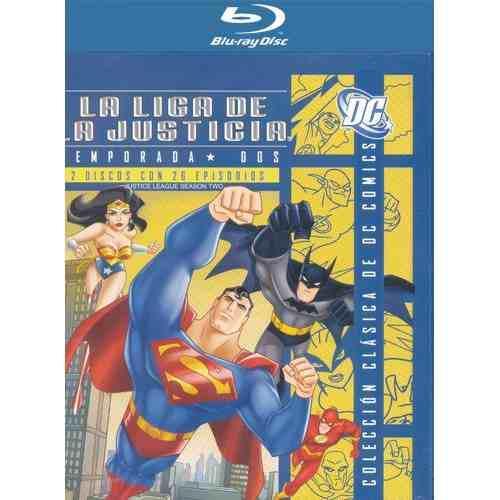 La Liga De La Justicia Temporada 2 Serie De Tv En Blu-ray