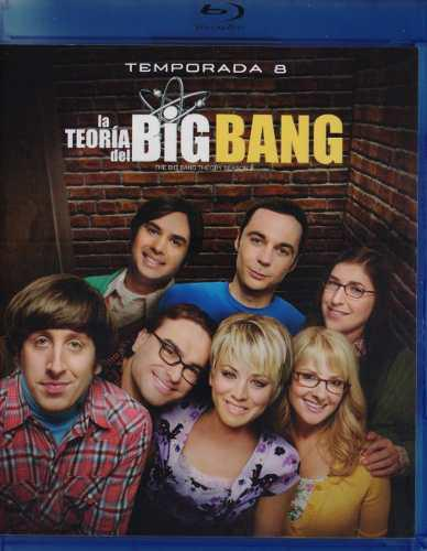 La Teoria Del Big Bang Octava Temporada 8 Ocho Blu-ray