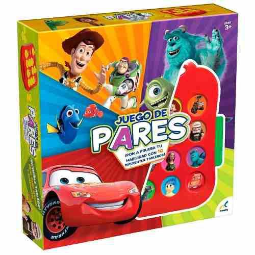 Memoria De Pares Pixar Novelty Juego De Mesa Niños Juguete