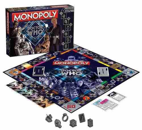 Monopoly Edición Especial Doctor Who Villains Edition
