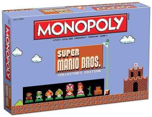 Monopoly: Súper Mario Bros, Edición De Colección