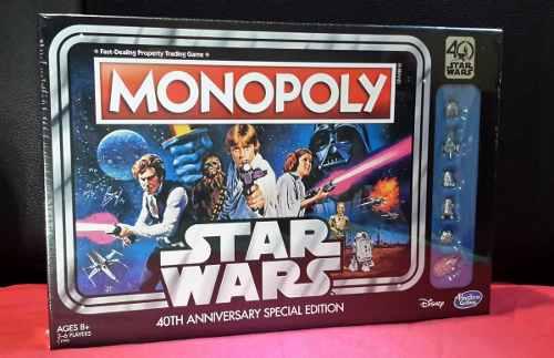 Monopoly Star Wars 40 Aniv Ed. De Colección